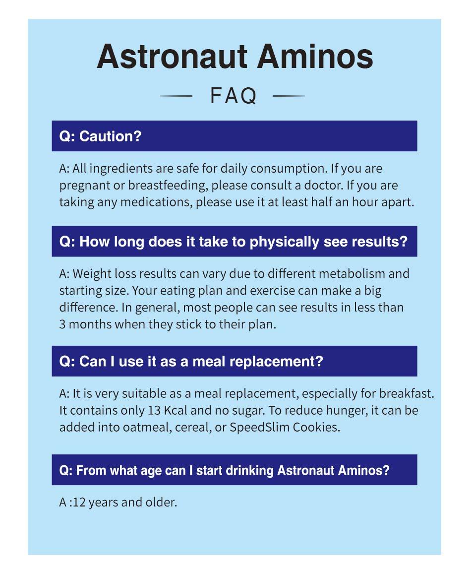 美胺速美國太空人胺基酸通過安全檢驗,安心健康