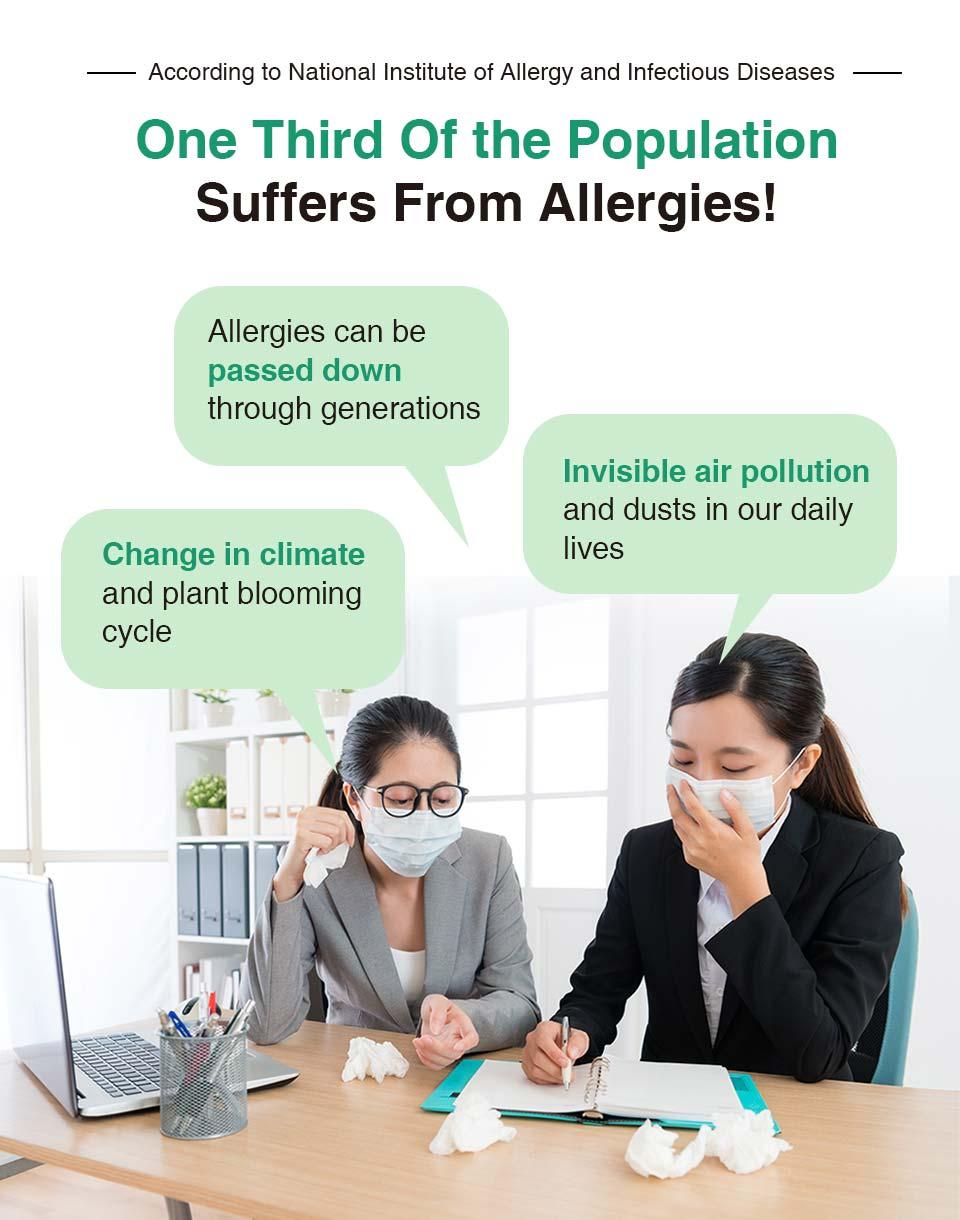 對抗PM2.5空氣汙染、油煙等問題