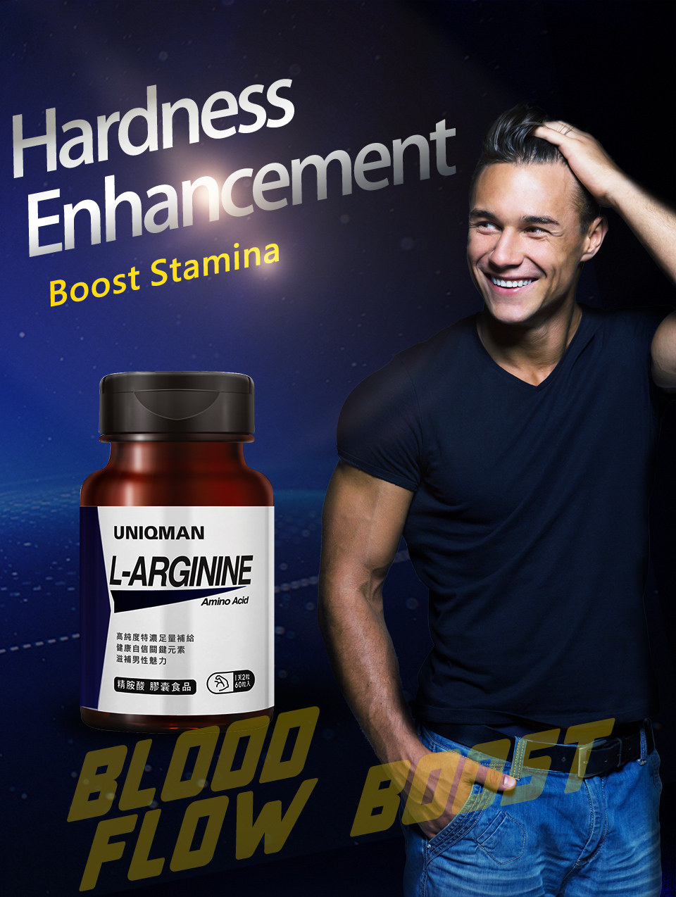 UNIQMAN L Arginine can enhance physical strength