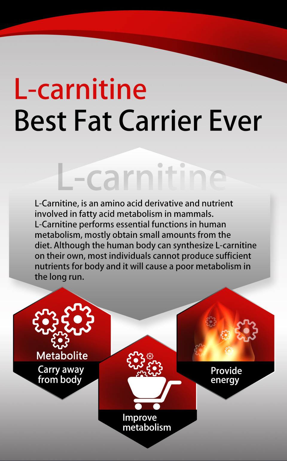 UNIQMAN L-carnitine contains vitamin B complex to enhance the immune system and heart health