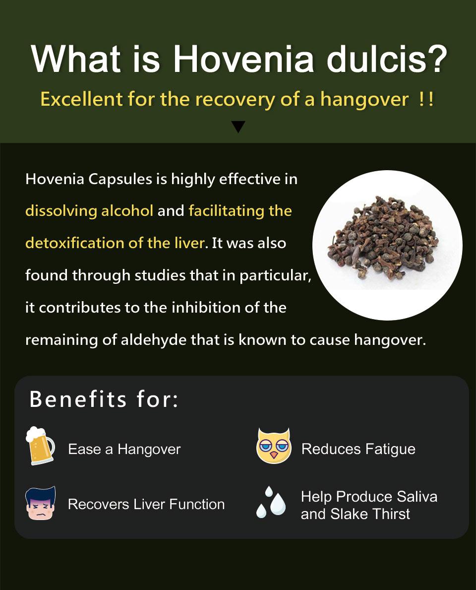UNIQMAN Hovenia ease a hangover