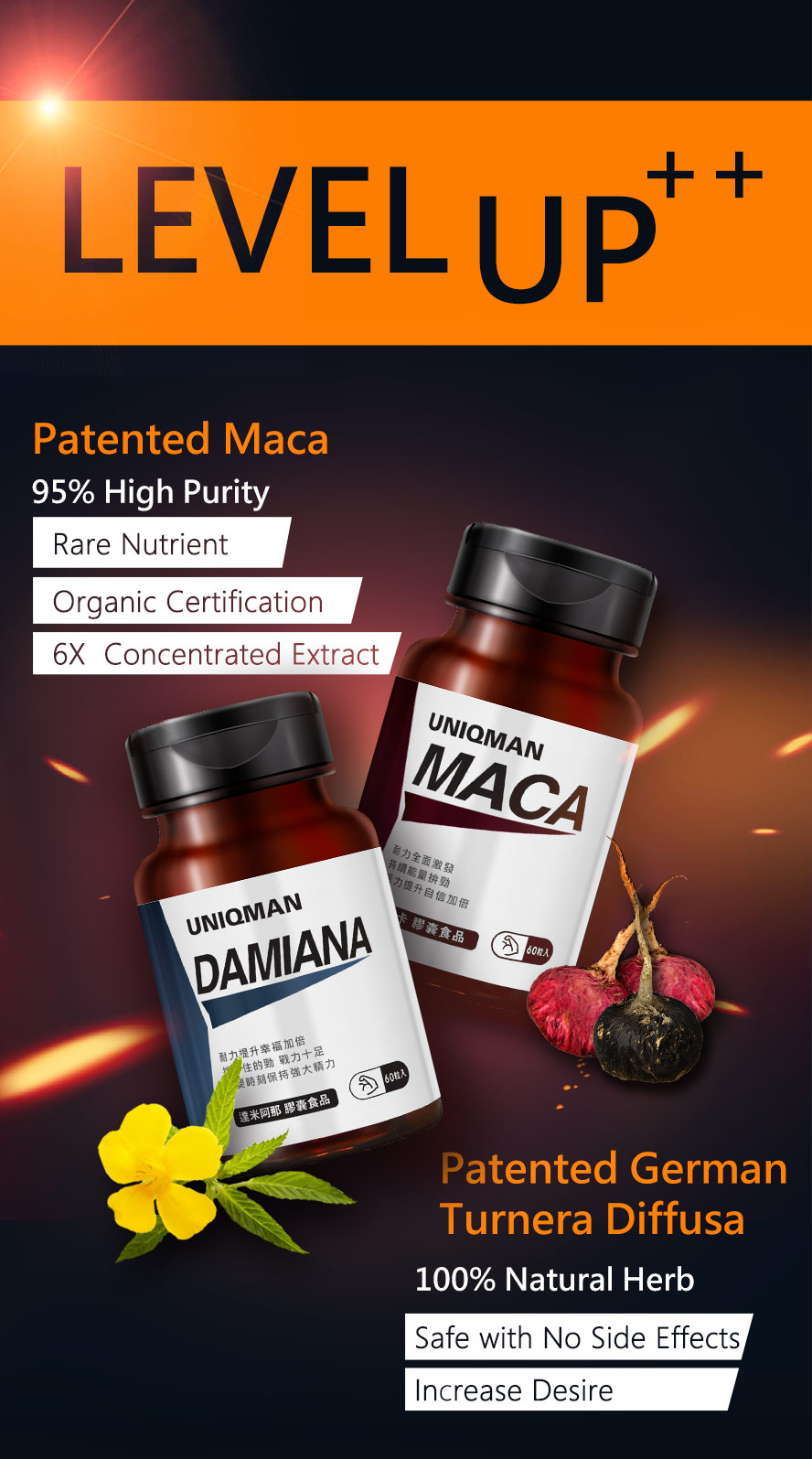 Damiana unleashes your wild power