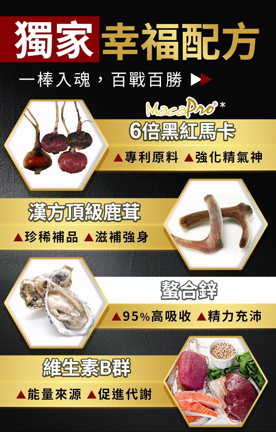 UNIQMAN瑪卡是滋補男性健康的生理保健品,添加鹿茸及螯合鋅,能全方位照護男性所需營養