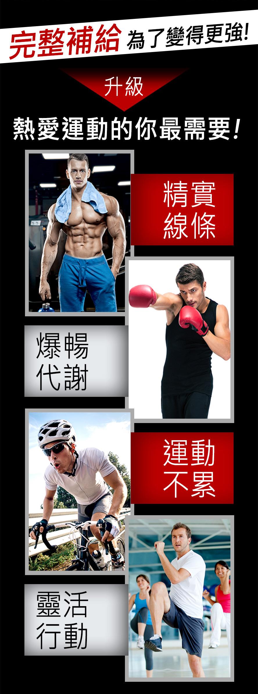 推薦給喜歡打球,上健身房或愛好有氧運動及跑步者,UNIQMAN運動組能有效提升運動表現